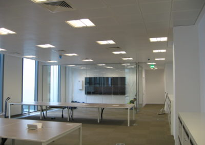 Glass Partitions Ireland - fitting in Dublin example 1