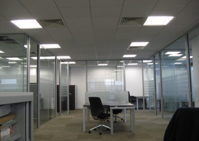 Glass Partitions Ireland - fitting in Dublin example 10