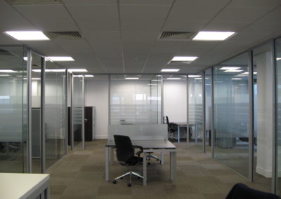 Glass Partitions Ireland - fitting in Dublin example 11