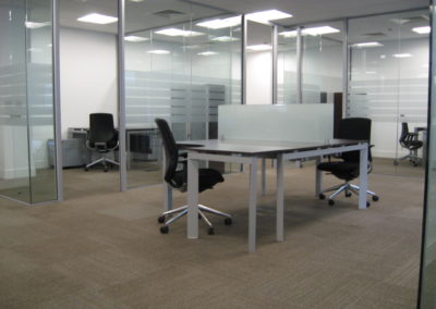 Glass Partitions Ireland - fitting in Dublin example 18