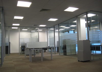 Glass Partitions Ireland - fitting in Dublin example 20