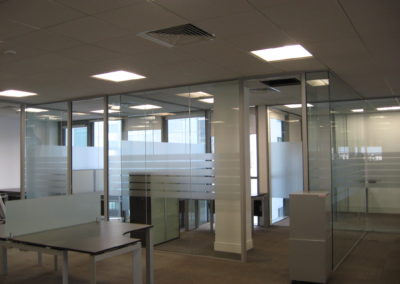 Glass Partitions Ireland - fitting in Dublin example 8