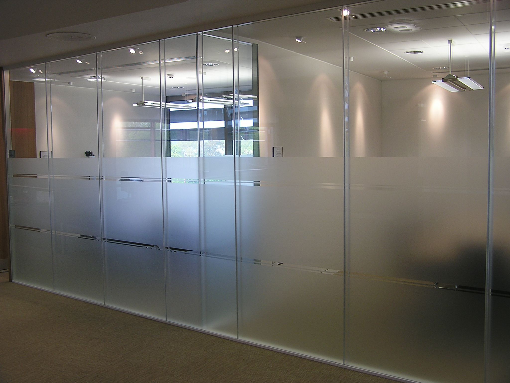 Glazed partitions for Dublin
